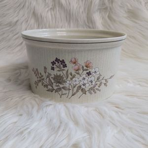ClearOut Item Vintage Royal Doulton Bredon Hill Souffle Dish
